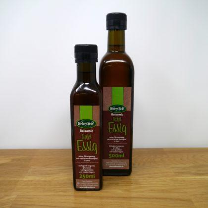 Apfel Balsamic Essig Flaschen