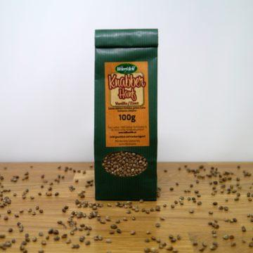 Knabberhanf Vanille-Zimt 100g Beutel