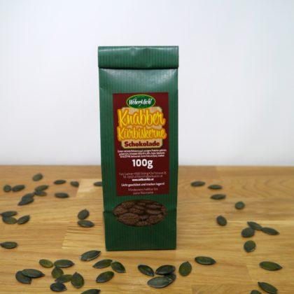 Kürbiskerne Schokolade 100g Beutel