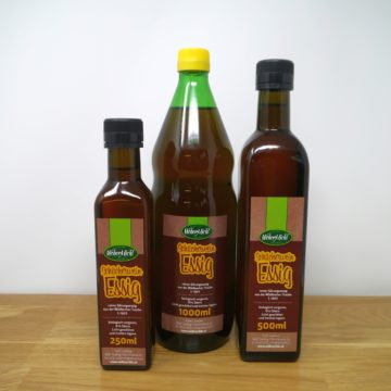 Schilcherwein Essig Flaschen