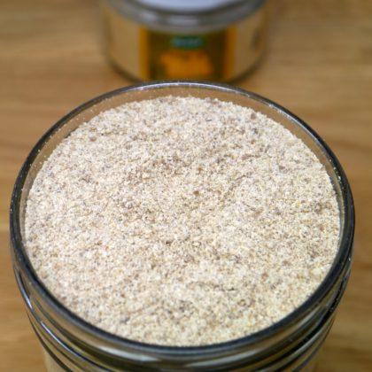 Sonnen Mehl im Glas